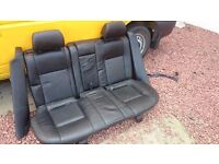 Ford Mondeo Mk3 Black Leather Rear Seats