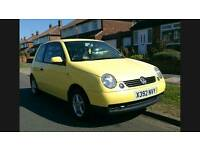 VW Lupo 1.0 E brilliant condition long mot