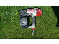 Compressed, nail gun, airline and nails for sale.