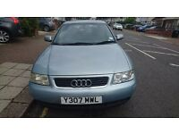 Audi A3 SE model Excellent runner/low mileage. New Pirelli tyres. Leather steering wheel etc.