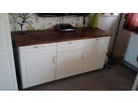 large Ikea white cupboard