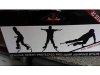 Powerisers, jumping stilts