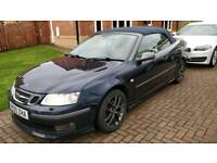 Saab 9-3 Convertible 2.0T Aero 2005 (55) - Great condition with new MOT