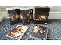24 complete box set including film