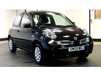 2010 NISSAN MICRA 1.2 VISIA 3d 80 BHP, 1 OWNER FROM NEW, FULL SERVICE RECORD, 2 YEARS WARRANTY