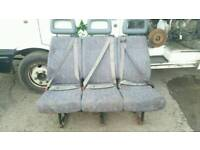 Ldv convoy 400 ford transit rear three seater bench seat with seat belts