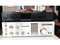 Sony Intergrated Stereo Amplifier & Genexxa 10 Band Equalizer......Together Or Separately!!!