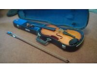Skylark violin in hard case