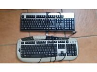 Microsoft Multimedia USB Keyboard And Dell USB Keyboard