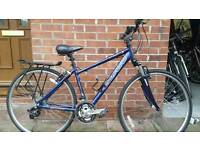 Carerra small frame hybrid bike. Fully serviced at kesgrave mobile cycle repairs.
