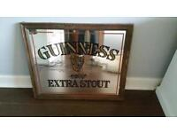 Lovely Collectible Arthur Guinness Mirror