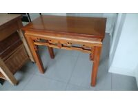 LOVELY ROSEWOOD SIDE / HALL TABLE