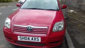 TOYOTA AVENSIS 1.8 PETROL MOT TILL MARCH EXCELLENT CONDITION DRIVES REALLY WELL