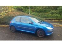 L@@K ■ 04 PEUGEOT 206 1.1 STYLE ■ ONLY 1 OWNER ■ LOW MILES 62 K ■ £600
