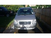 Suzuki Wagon R , 1.3 petrol, GL+ 2004 57k, FSH, 12 months mot Stunning inside and out