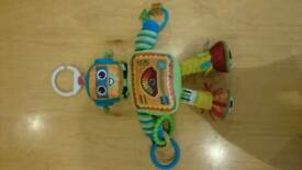 Lamaze robot buggy toy