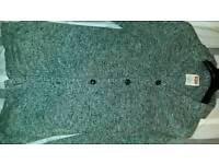 Levis new cardigan 3/4length pockets large
