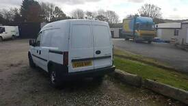 VAUXHALL COMBO CDTI 2008 - Central Locking, Ready to go panel van, Good Condition, Drives Well