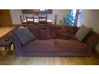 reluctantly for sale this lovely comfortable 4 seater comfy sofa