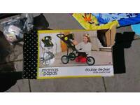 New in box Mamas and Papas double buggy toy. Pushchair.