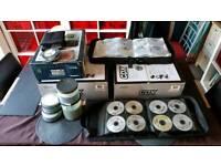 Numark cdx decks and dxm06 mixer and 1000s tunes