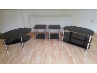 TV corner Unit and matching coffee Table