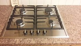 NEFF T22S36N0GB Stainless Steel Gas Hob