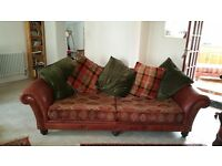 Tetrad Eastwood Grand Sofa, Wing Chair and footstool