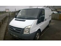 ford transit swb 2007 registration, 2.2 lt turbo diesel , 157,000 miles, new mot