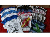Toddler boys age 18-24 months clothes bundle. Over 30 items!