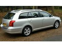 Today avensis 1.8 vvti low mileage