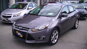 2014 Ford Focus TITANIUM, NAV, LEATHER, SUNROOF, 4 NEW TIRES