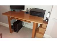 Debenhams wooden desk