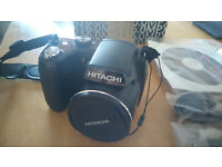 Hitachi HBC161E (BenQ GH 600) Bridge Camera 16 Megapixel with Accessories - Very good condition