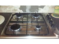 Gas hob 4 ring in good condition.