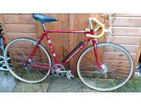 Red Peugeot Road Bike