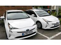 PCO CAR Hire / Rent TOYOTA PRIUS 2017 *UBER READY*