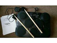 Portable digital drum