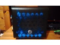 Ultra Fast Mini-ITX Quad Core 4ghz, 8gb DDR3 2400mhz Gaming PC with R9 270X 4gb Graphics Card