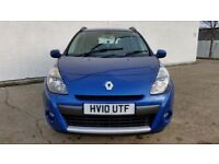 2010 RENAULT CLIO 1.2 [100] DYNAM TCE ESTATE-TIMING BELT JUST DONE-FINANCE AVAILABLE PART EX WELCOME