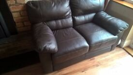 2 Seater Brown Sofa for Sale!