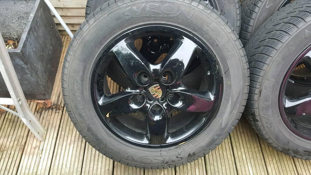 Porsche cayenne 18 inch alloy wheels