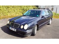 2002 MERCEDES W210 E320 CDI AVANTGARDE DIESEL AUTO ESTATE 7 SEATER MOTED LOTS OF SERVICE HISTORY