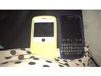 Blackberry curve 9360 and blackberry 9720