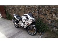 KAWASAKI NINJA 636ZXR A1P EX MET PURSUIT BIKE