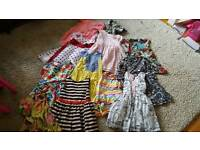 12 Girls Dresses Age 5 to 6