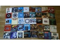 41 x 7 inch status quo vinyl collection imports / colour vinyl / picture discs / limited editions