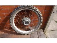 CR250 set of wheels