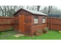 Cabin style workshop /Garden shed