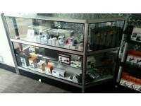 Glass diplay cabinet